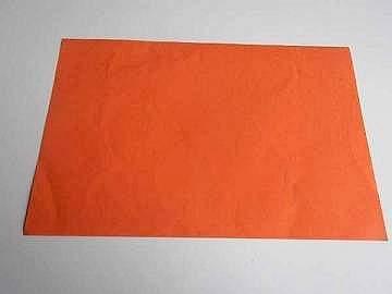 A5 orange paper