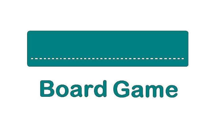 board game title sheet