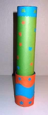 cardboard tube kaleidoscope