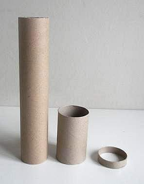 parts for cardboard tube kaleidoscope