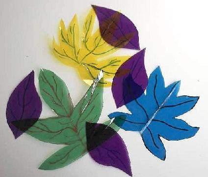 celophane leaves