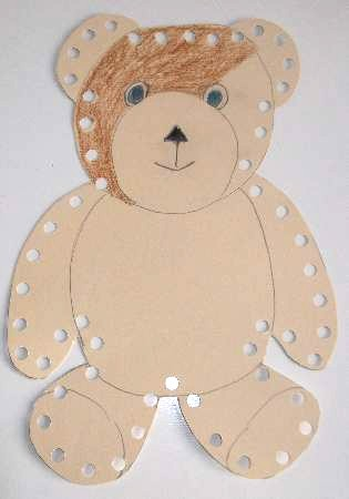 Lacing Cards For Preschool Crafts