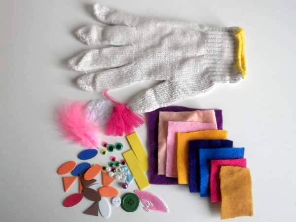 how to make spirit finger gloves