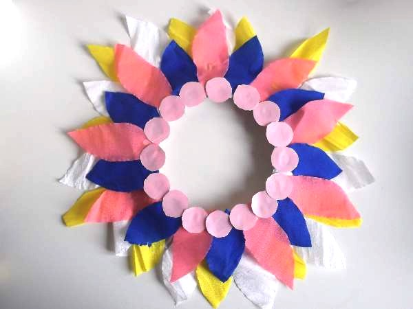 Paper Plate Flower Crafts For Kids Preschool Spring Craft Projects