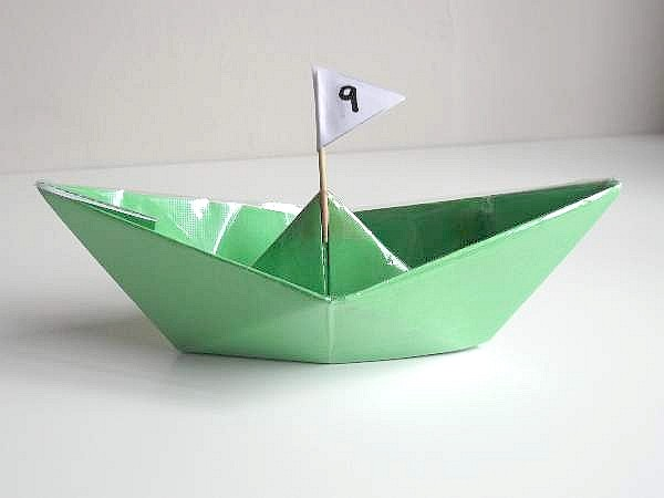 How To Make A Paper Boat That Floats on Water - Easy Origami boat | 450x600