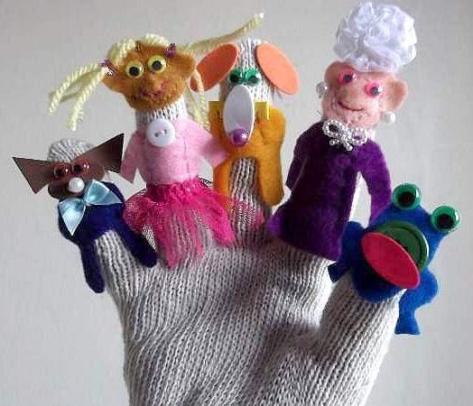 Finger Puppet Craft For Kids