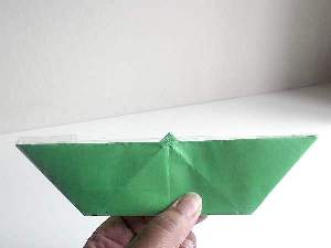 Paper Boat with White Background