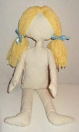 picture regarding Printable Rag Doll Patterns called Produce a Doll for Small children Crafts