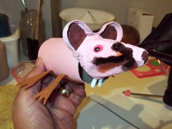 making mouse whiskers