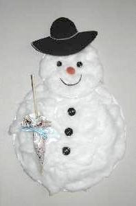 A Paper Plate Snowman Who Needs the Snow? & Make a Paper Plate Snowman