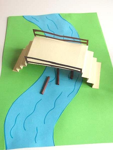 how to make a river out of tissue paper
