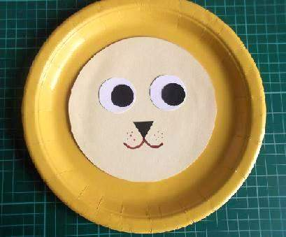 pplion8 & Paper Plate Lion Craft Projects