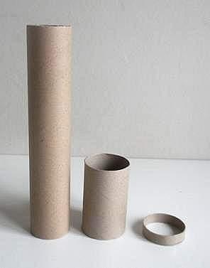 parts for cardboard tube kaleidoscope