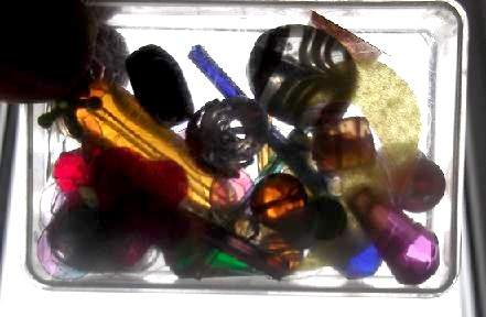 glass beads for kaleidoscope